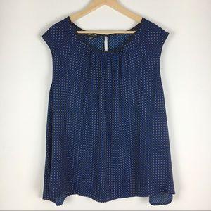 Jones New York Woman Sleeveless Blouse Size 24W